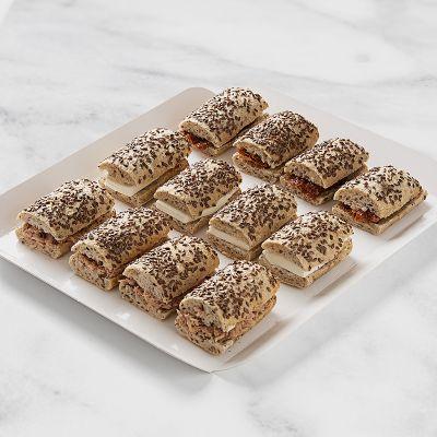 Bandeja de mini bocadillos pan especial (12 Uds)