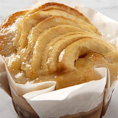 Muffin de manzana con crema