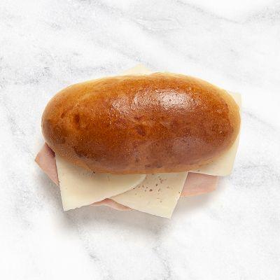 Mini brioche de jamón york y queso