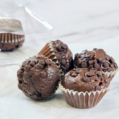 Micromagdalenas de chocolate (10 uds)
